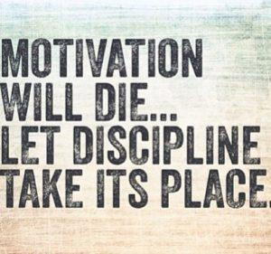 Discipline vs. Motivation